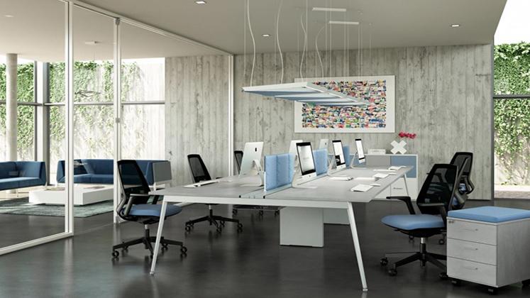 Scrivanie Ufficio Negozio : Mobili per ufficio quadrifoglio su arredodidesign