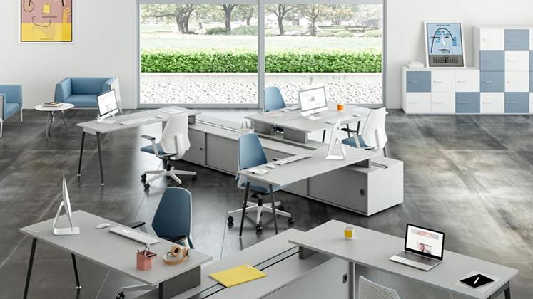 mobili per ufficio quadrifoglio su