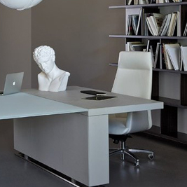 Smart Office Estel: Ufficio con libreria